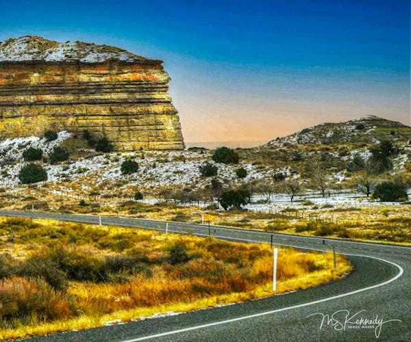 Around The Bend Rock Formation Art | Cutlass Bay Productions, LLC