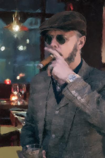 A Good Cigar Art   Windhorse