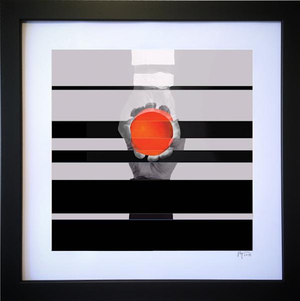 Orange Ball Art | Jon Savage Contemporary Art