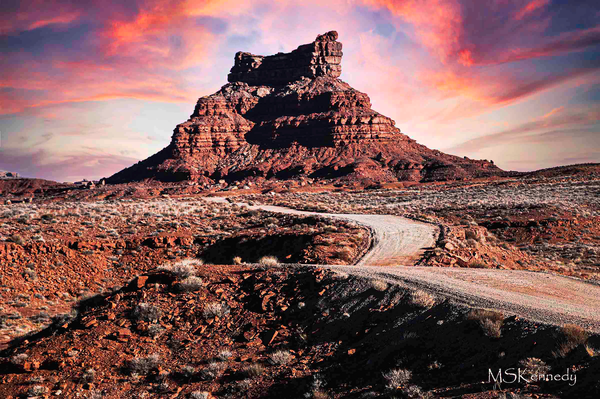 Valley Of The Gods Formation Art   Cutlass Bay Productions, LLC