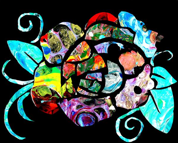 Mosaic Rose