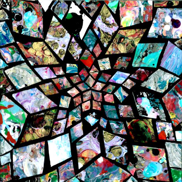 Geometric Mosaic Starburst