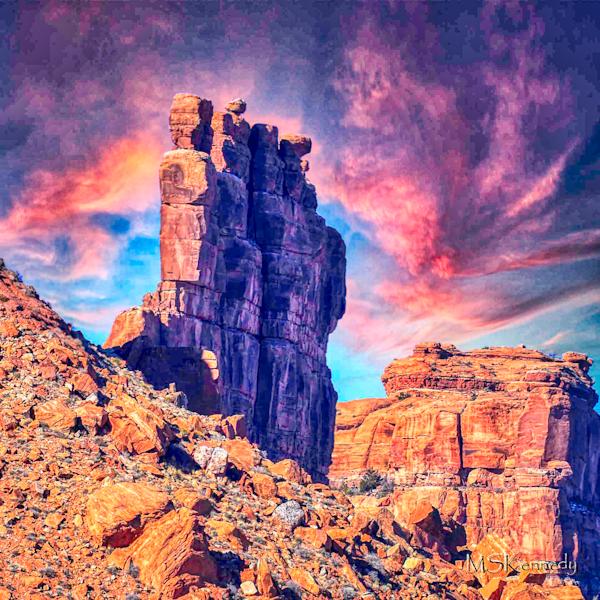 Valley Of The Gods Buttress Art | Cutlass Bay Productions, LLC