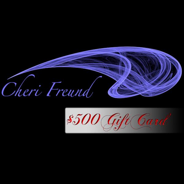 $500 Gift Card | cherifreund