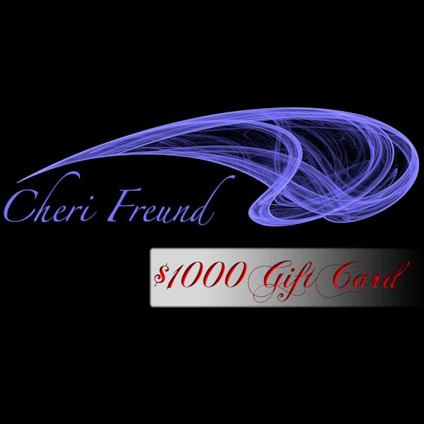$1000 Gift Card | cherifreund