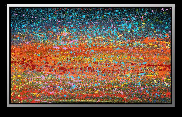 "Simon Bull Available Original Painting - ""Moonlight Melody"""