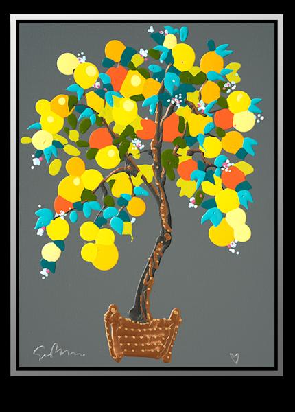 "Simon Bull Available Original Painting - ""Abundance"""