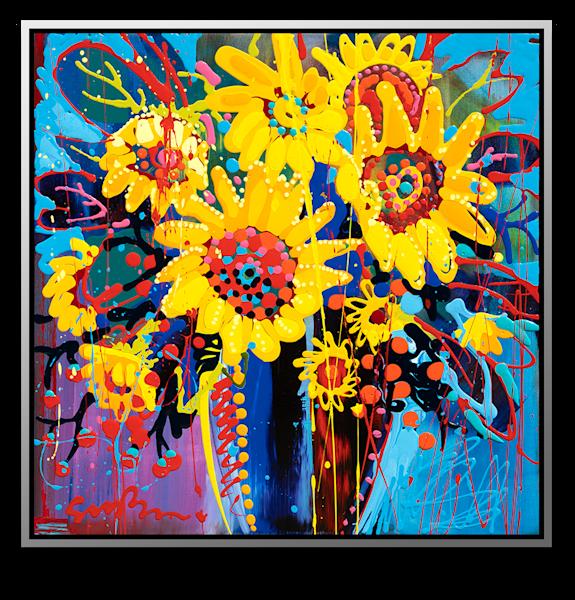 """Simon Bull Available Original Painting - """"Bohemia"""""""