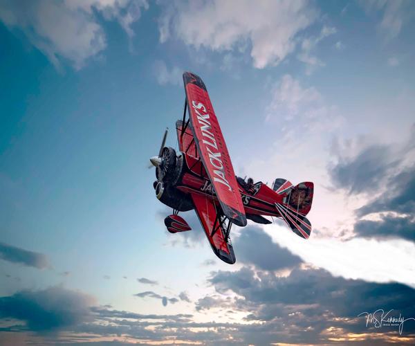 Jet Bi Plane Hybrid Art | Cutlass Bay Productions, LLC