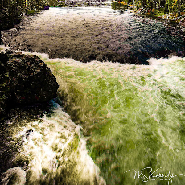 Yellowstone River Rapids Art | Cutlass Bay Productions, LLC