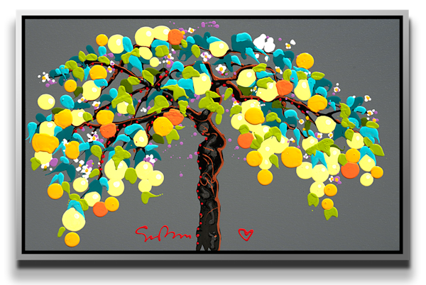 "Simon Bull Available Original Painting - ""Like Lovers Do"""