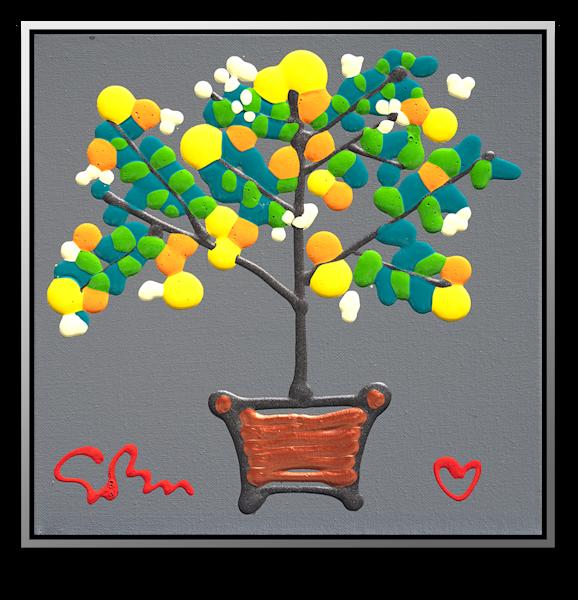"Simon Bull Available Original Painting - ""Lemonade"""