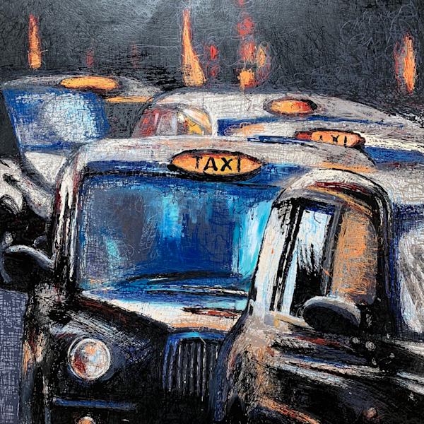 London Taxi Cabs Art | Atelier Steph Fonteyn