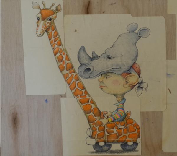 Unknown (Giraffe) Art | East End Arts