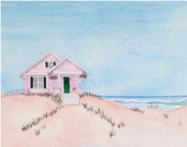Little Beach House Art | East End Arts