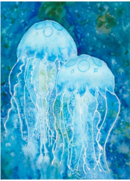 Jellyfish Art | East End Arts