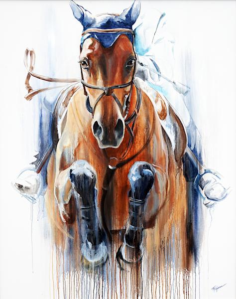 Up & Over Original Painting | Tammy Tappan Art