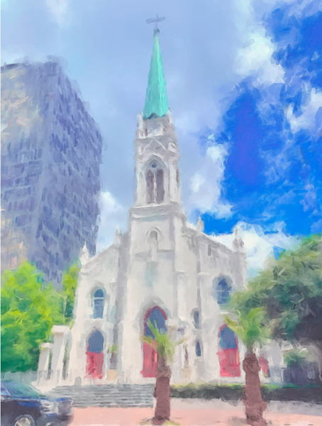 St Joseph Cathedral Baton Rouge  Art | Windhorse
