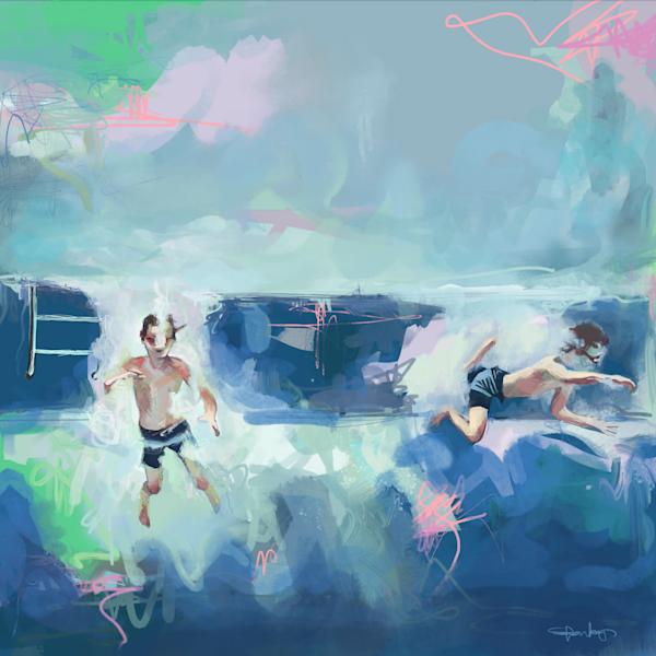 Water Babies Art | Atelier Steph Fonteyn