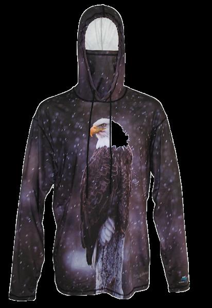 Snowbird   Eagle Sun Protective Wildlife Graphic Hoodie   Last Chance Gallery