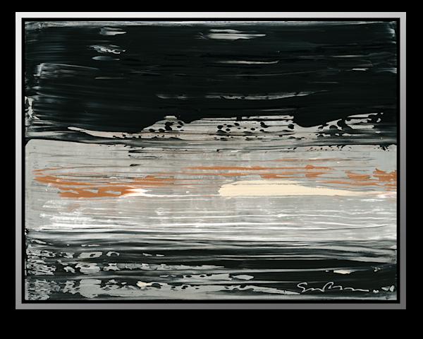 "Simon Bull Available Original Painting - ""Silver Stream"""