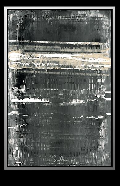 """Simon Bull Available Original Painting - """"Night Surf"""""""