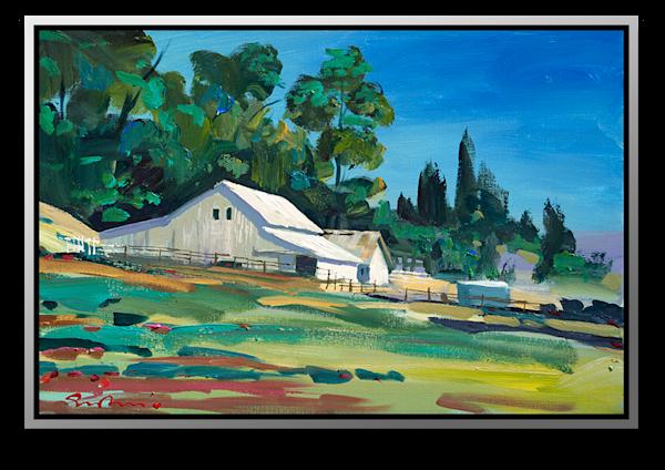 "Simon Bull Available Original Painting - ""Morning, Stewart Ranch"""