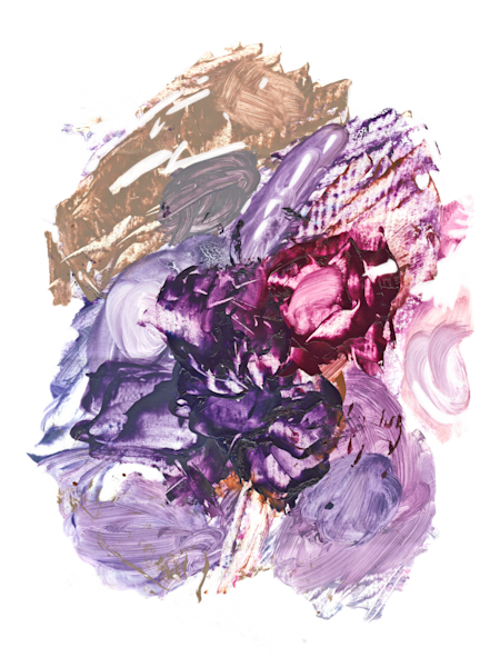 Color Palette Lilacs Plums And Berries Print Art | Marie Stephens Art