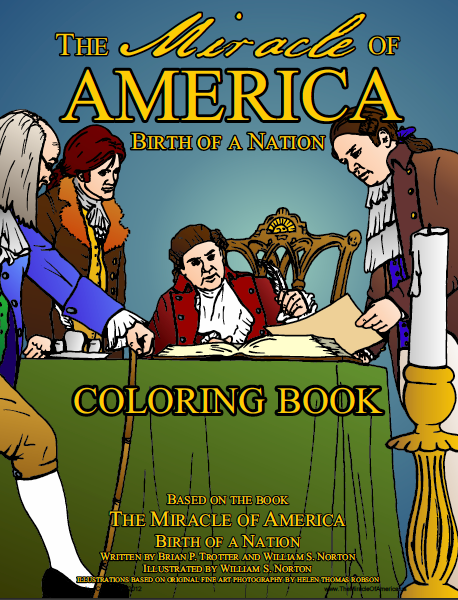 The Miracle Of America Coloring Book Art | Captured Miracles Production, and Helen Thomas Robson byDESIGN