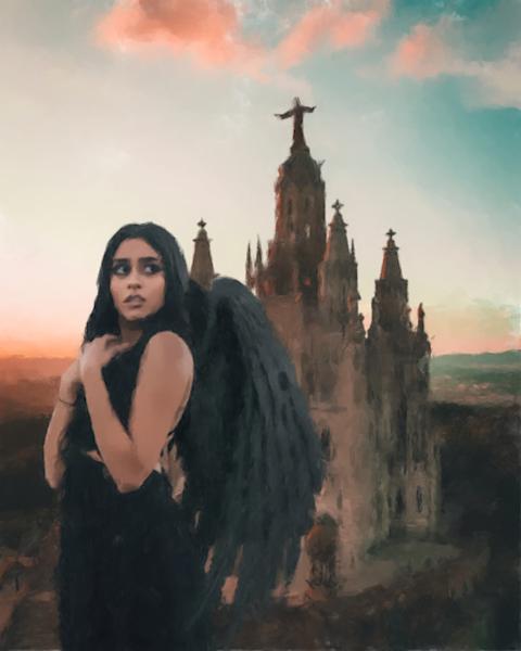 Goth Angel Art | Windhorse