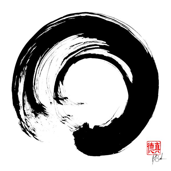 Zen Circle (Enso)10 Art   Zen Art of Enlightenment