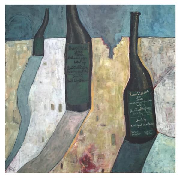 Rosso Ca Del Merlo Series Iii Art | D. Colabella Fine Art Gallery