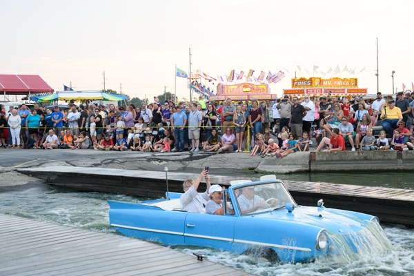 Dsc2562 Amphicar Splash In Photography Art | Hatch Photo Artistry LLC