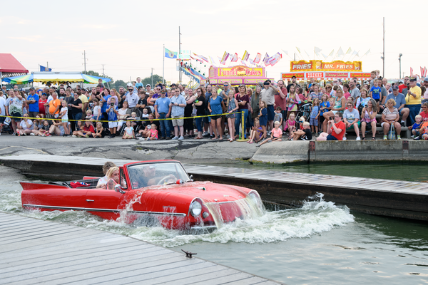 2360 Amphicar Splash In Photography Art | Hatch Photo Artistry LLC
