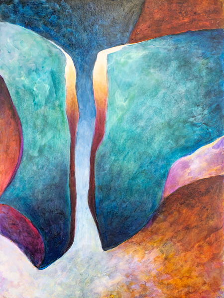 Bow Echo   Triptych (Middle) Art | RPAC Gallery