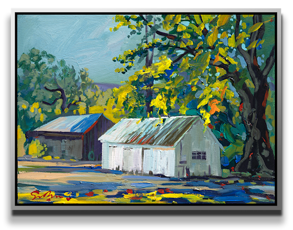 """Simon Bull Available Original Painting - """"Andrew Molera State Park, Afternoon Shadows"""""""