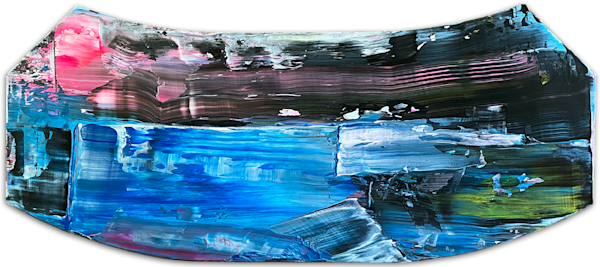 Lost Over International Waters painting