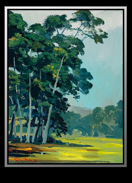 "Simon Bull Available Original Painting - ""Rancho Canáda"""