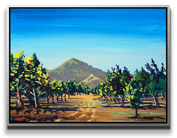 """Simon Bull Available Original Painting - """"Andy's Orchard"""""""
