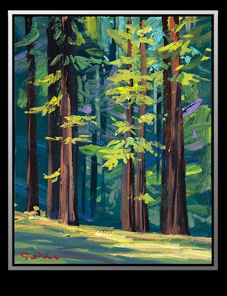 "Simon Bull Available Original Painting - ""Golden Grove"""