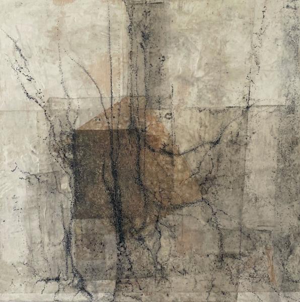 Interior Of Dreams (Original) Art   Modern Encaustics LLC