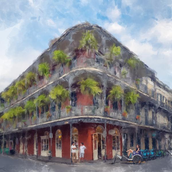 La Branche House New Orleans French Quarter Art | Windhorse