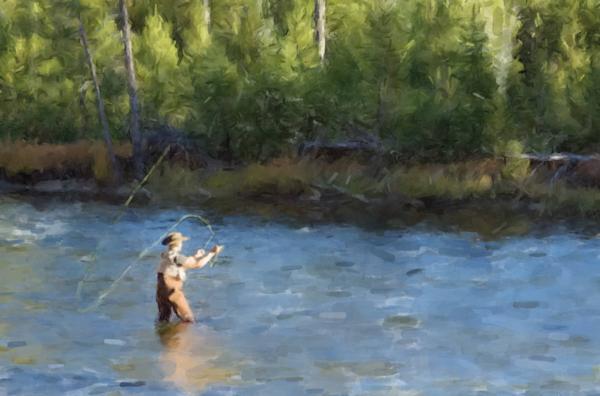 Fly Fishing Art | Windhorse