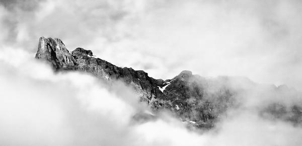 Above The Ice Fields (B&W) Photography Art | Alina Marin-Bliach Photography/alinabstudios LLC