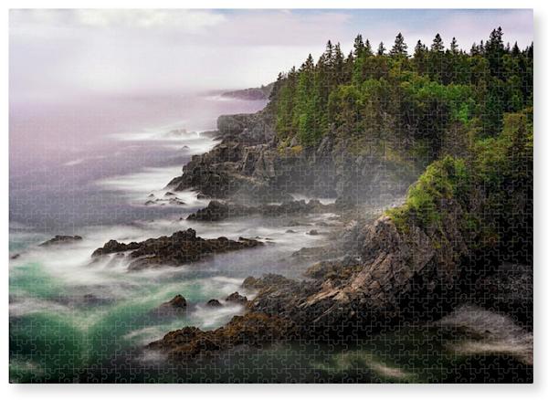The Cutler Coast Jigsaw Puzzle | Shop Photography by Rick Berk