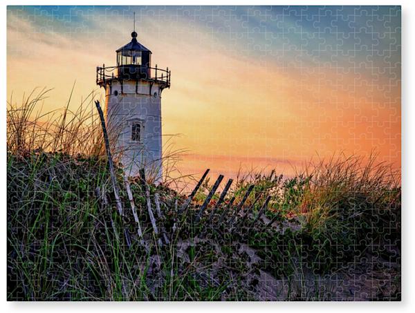 Race Point Lighthouse Jigsaw Puzzle | Shop Photography by Rick Berk