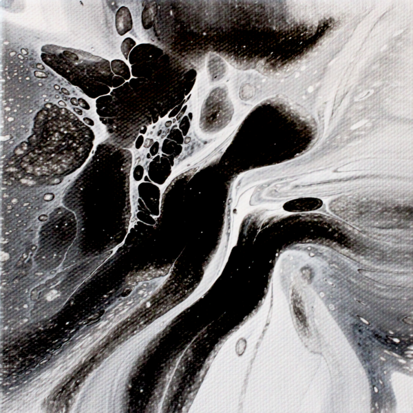 Mysterious Ways - Acrylic Pour Painting Prints and Merch