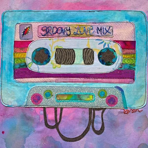 Groovy Love Mix Tape Art | Karen Payton Art