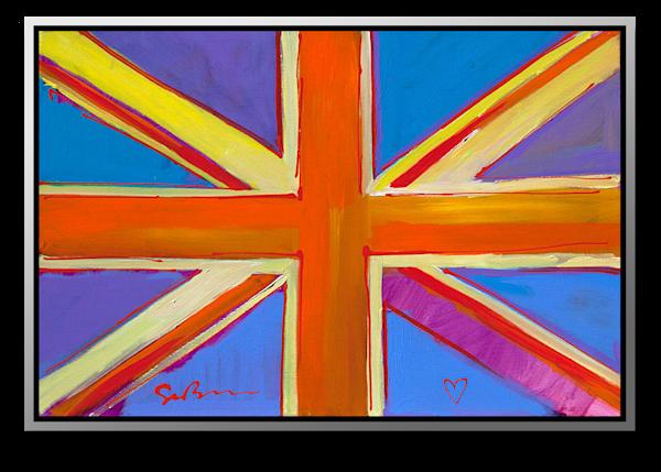 "Simon Bull Available Original Painting - ""Keep Calm II"""