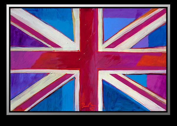 "Simon Bull Available Original Painting - ""Keep Calm VII"""